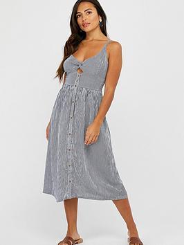 accessorize-stripe-midi-dress