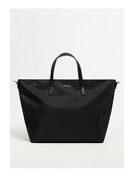 mango-weekend-bag-black