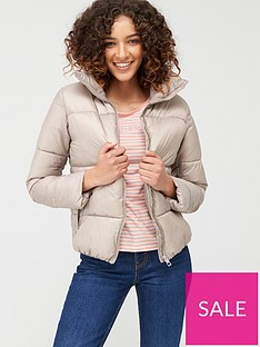 mango-zip-up-padded-coat-light-grey