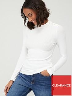 mango-embellished-shoulder-jersey-high-neck-jumper-white