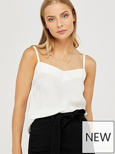 monsoon-mae-pleat-cami-ivory