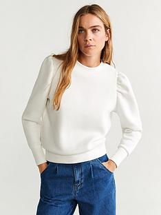 mango-extreme-puff-sleeve-top-natural