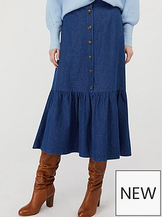 monsoon-monsoon-tori-organic-cotton-tiered-denim-skirt