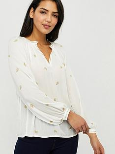 monsoon-pia-embroidered-top-ivory