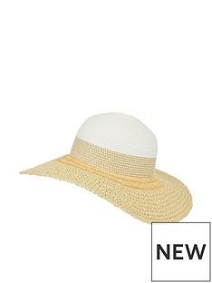 monsoon-carey-colour-block-floppy-hat-natural