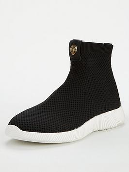 kurt-geiger-london-lorna-sock-trainers-black
