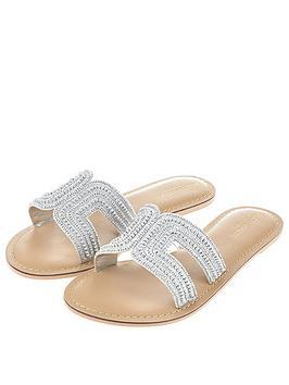 accessorize-bella-beaded-slider-silver