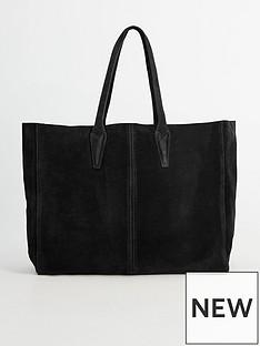 mango-oversized-suede-tote-bag-black