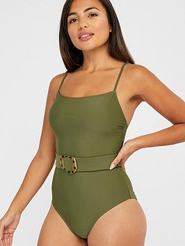 accessorize-belted-swimsuit-khaki
