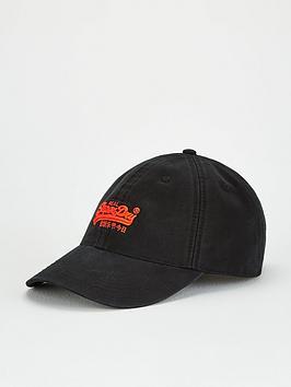 superdry-orange-label-baseball-cap-black