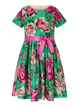 monsoon-girls-sew-recycled-bright-floral-print-dress-green