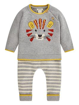 monsoon-baby-boys-lionel-knitted-set-grey