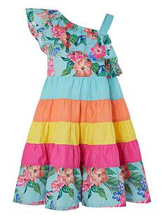monsoon-fergie-flower-colour-block-dress-turquoise