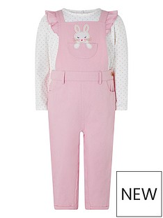 monsoon-baby-girls-albi-dungaree-tshirt-pink