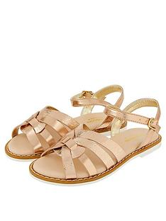 monsoon-girls-giya-plaited-sandal-rose-gold