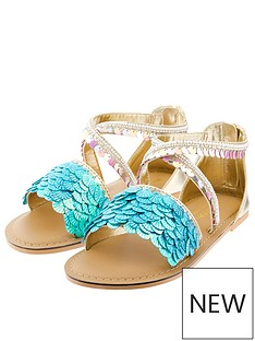monsoon-girls-nerissa-mermaid-sandal-blue