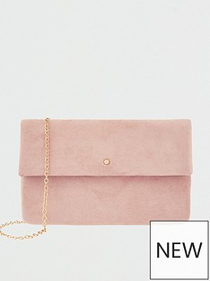 accessorize-foldover-clutch-pink