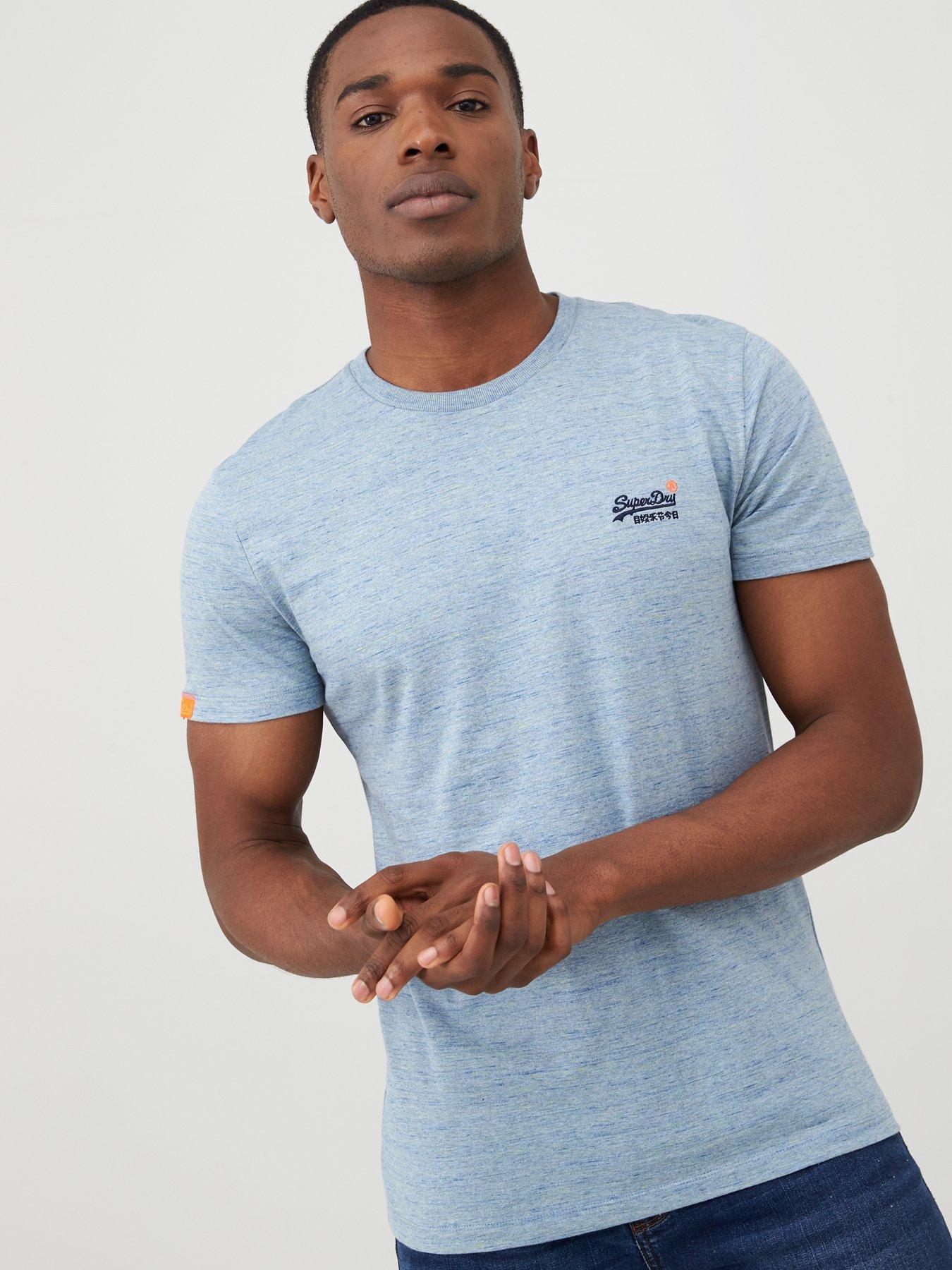 MENS /'PIG t.shirt in Marl grey Sizes M-XXL
