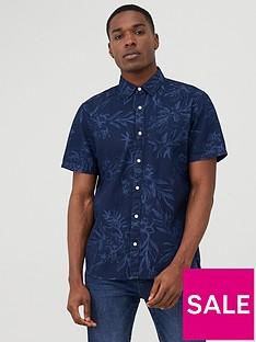 superdry-miami-loom-printed-short-sleeve-shirt-navy