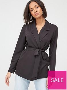 v-by-very-tie-waist-soft-tailored-jacket-black