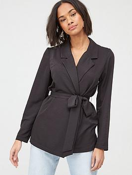 v-by-very-tie-waist-soft-tailored-jacket-black