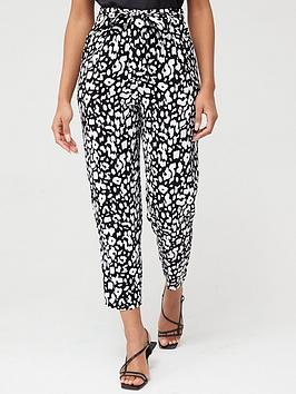 v-by-very-tie-waist-pleat-front-trouser-animal-print