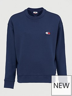 tommy-jeans-tommy-badge-crew-sweatshirt-navy