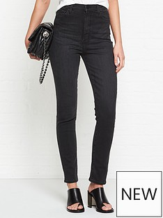 j-brand-1212-runway-high-rise-slim-straight-jeans-black