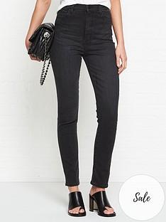 j-brand-1212-runway-high-rise-slim-straight-jeans-black