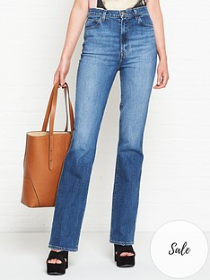 j-brand-1219-runway-high-rise-boot-cut-jeans-blue