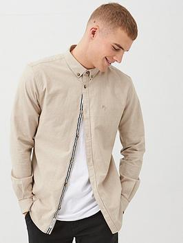 river-island-long-sleeve-slim-fit-oxford-shirt