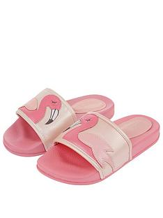 monsoon-girls-floella-flamingo-slider-pale-pink
