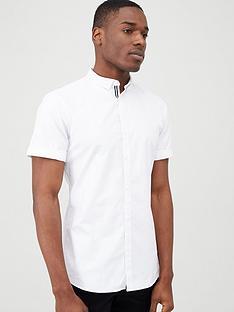 river-island-white-short-sleeve-oxford-shirt