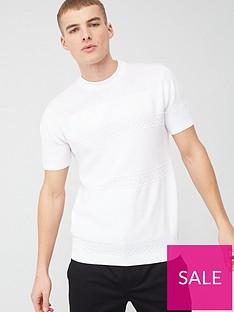 river-island-maison-rivieranbspslim-fit-knit-t-shirt-whitenbsp