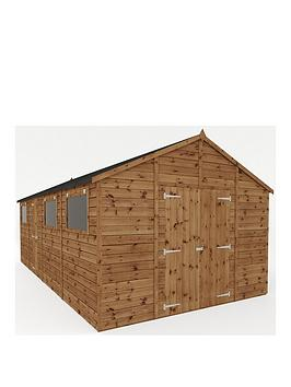 mercia-20x10-premium-pressure-treated-shiplap-workshop-shed-with-double-doors-and-installation