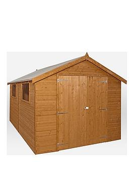mercia-12x8-premium-pressure-treated-shiplap-apex-shed-with-installation