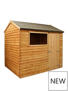 mercia-8x6-value-overlap-dip-treated-reverse-apex-shed-with-installation
