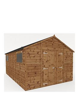 mercia-16x10-premium-pressure-treated-shiplap-workshop-shed-with-double-doors-and-installation