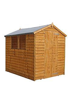 mercia-7x5-value-overlap-dip-treated-apex-shed-with-installation