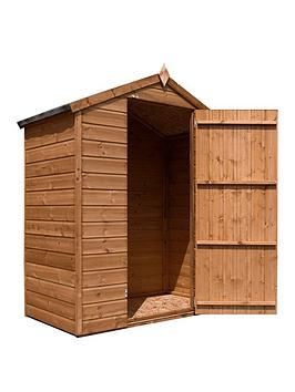 mercia-3x5-premium-pressure-treated-shiplap-windowless-apex-shed-with-installation