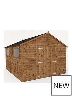 mercia-12x10-premium-pressure-treated-shiplap-workshop-shed-with-double-doors-and-installation