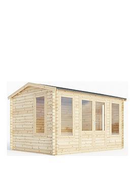 mercia-4mx3m-34mm-garden-room-log-cabin