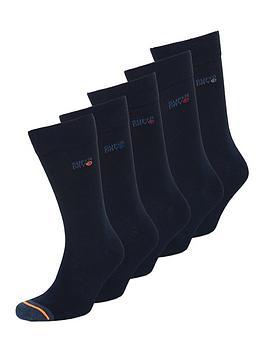 superdry-five-pack-sock-navy