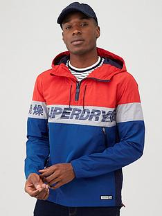 superdry-ryley-overhead-jacket-red