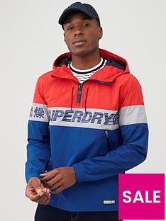 superdry-ryley-overhead-jacket-red
