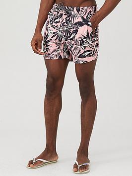 superdry-edit-floral-print-swim-shorts-pink