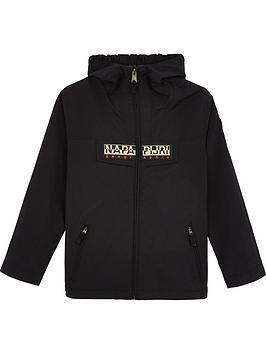 napapijri-boys-rainforest-zip-through-hooded-jacketnbsp--black