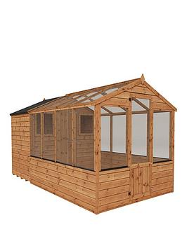 mercia-12x6-shiplap-dip-treated-combi-shed-greenhouse