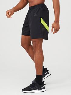 adidas-own-the-run-shorts-black