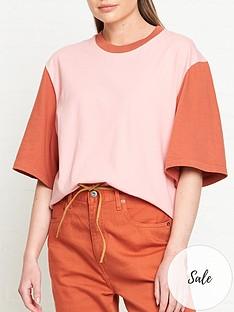 levis-made-crafted-oversized-sleeve-t-shirt-pinkorange